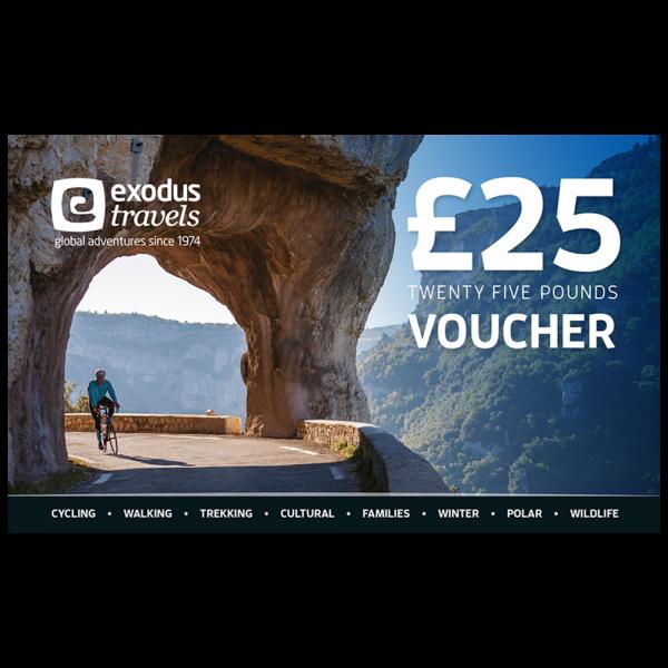 Exodus £25 Gift Voucher