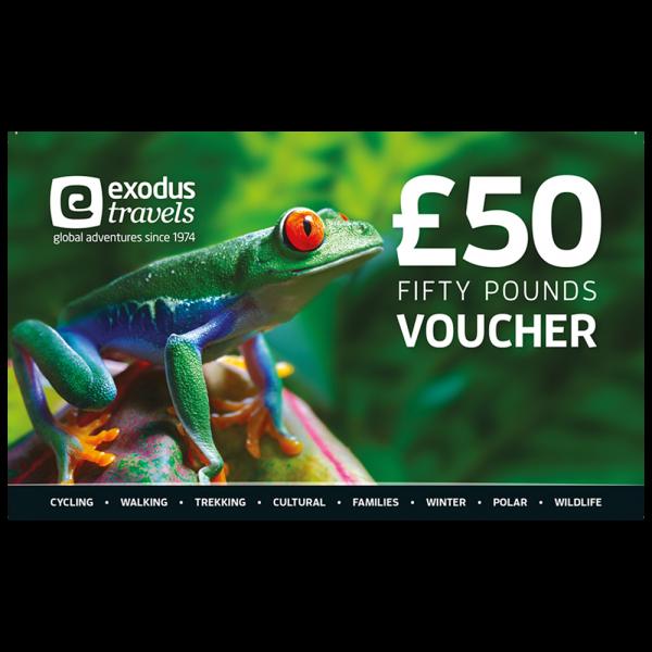 Exodus £50 Gift Voucher