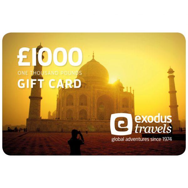 Exodus £1000 Gift Voucher | xo